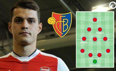 Formacioni fantastik i Baselit në rast se nuk do t'i shiste lojtarët më të mirë (Foto)