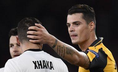 Arsenal 2-0 Basel, Mustafi fantastik, por jo dhe vëllezërit Xhaka (Foto)