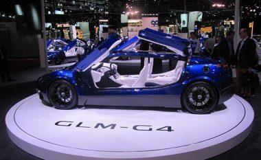 GLM prezanton makinën elektrike që i hap dyert me sistemin 'flutur' (Foto)