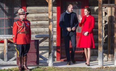 'Zonja në të kuqe', dukesha lë mbresa në Kanada (Foto)