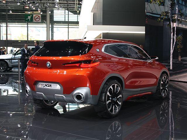 Koncepti i BMW X2 që do të konkurrojë me Mercedes GLA foto 7