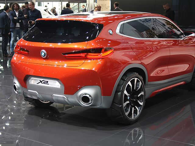 Koncepti i BMW X2 që do të konkurrojë me Mercedes GLA foto 9