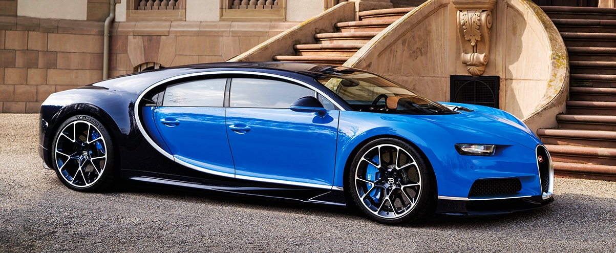 Modeli ri i Bugatti Chiron mund ti kete kater dyer foto 2
