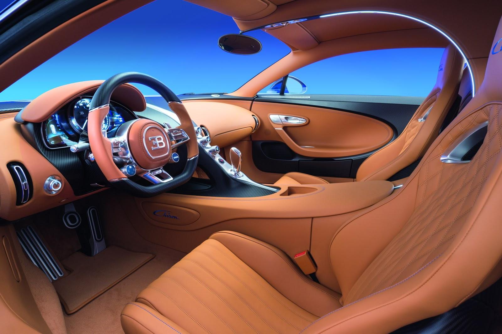 Modeli ri i Bugatti Chiron mund ti kete kater dyer foto 3