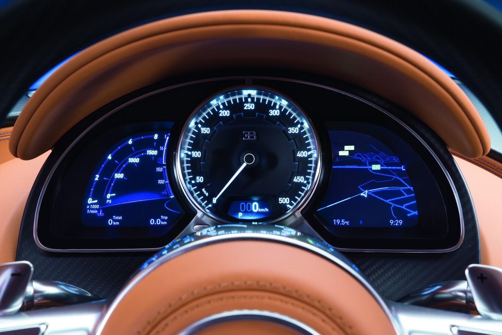 Modeli ri i Bugatti Chiron mund ti kete kater dyer foto 4