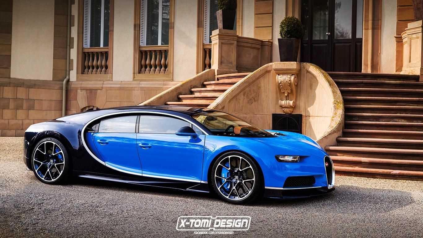 Modeli ri i Bugatti Chiron mund ti kete kater dyer foto 5