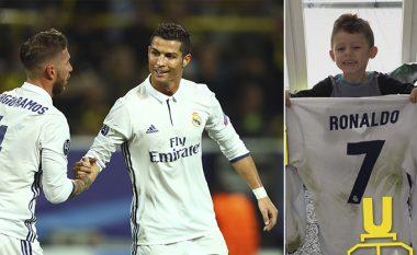 Aubameyang falënderon Ronaldon, por arsyeja është e fortë (Foto)