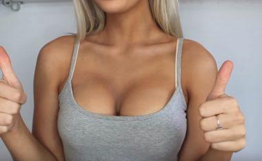 Si t'i bëni gjokset t'ju duken shumë më të mëdha? (Video)