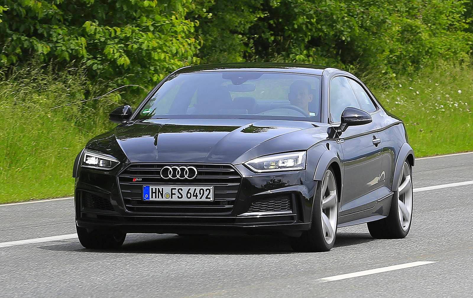 Spiunohet gjatë procesit të testimit Audi RS5 që lansohet më 2018 foto 2