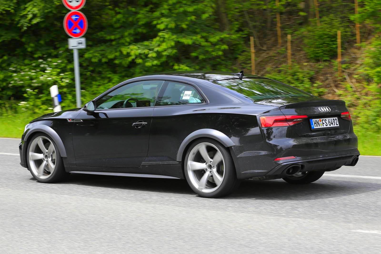 Spiunohet gjatë procesit të testimit Audi RS5 që lansohet më 2018 foto 4