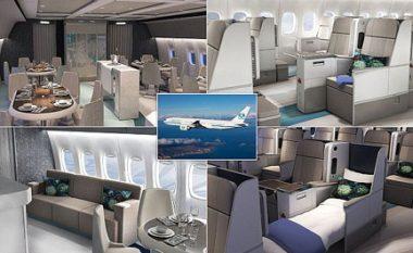 Me këtë aeroplan, udhëtimi do të jetë më i shtrenjti në botë – shihni arsyet pse! (Foto)