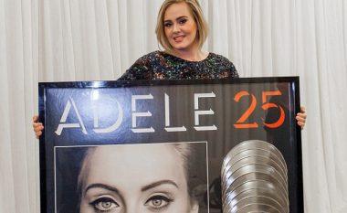 Shpërblehet Adele, arrin një rekord shitjesh të albumeve