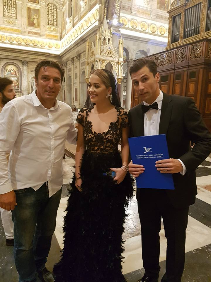 Ardian Kozniku, Rita Ora dhe Lorik Cana