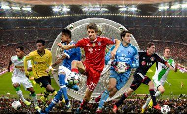 Këta janë golashënuesit kryesor të Bundesligas që nga sezoni 2012/13
