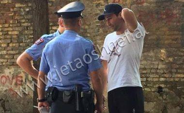 Lorik Cana ndalohet sërish nga policia! (Foto)