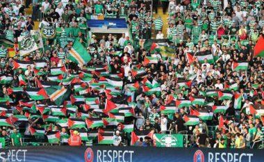 UEFA dënon Celticun pas shpalosjes së flamujve palestinezë