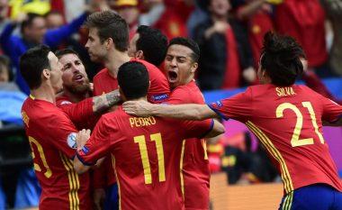 Zyrtare: Lista e Spanjës kundër Shqipërisë (Foto)