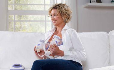 Tepricën e qumështit nga gjiri, ngrijeni në frigorifer