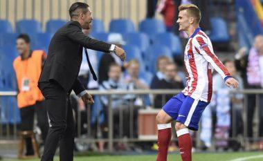 Griezmann e quan Simeonen shpëtimtar të Atleticos