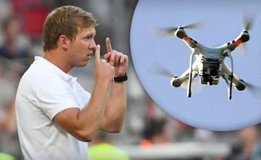 Trajneri shfrytëzon dronin për stërvitje!