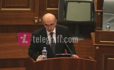 Kryeministri Mustafa sot rrëfehet para deputetëve