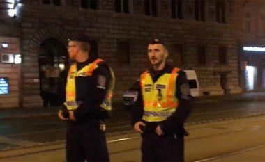 Shpërthim i madh në qendër të Budapestit (Video)