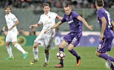 Milani dhe Fiorentina ndahen në paqe (Video)