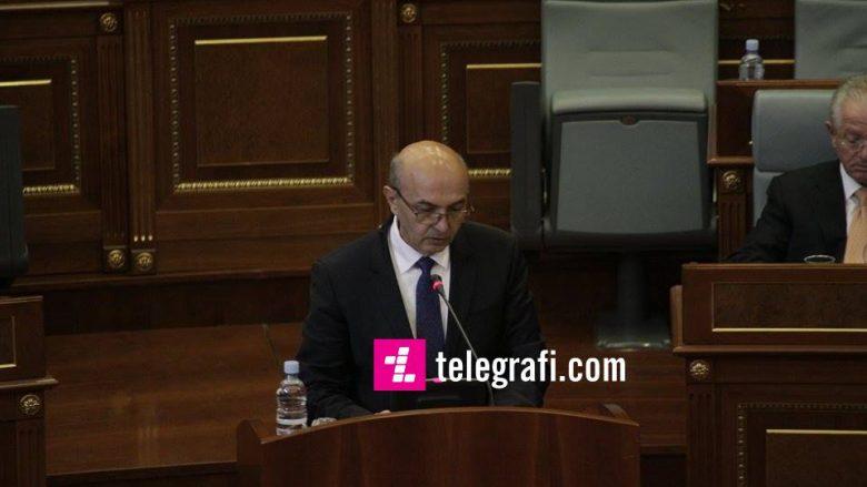 Marrëveshja për kodin telefonik, Mustafa tregon rëndësinë e saj para deputetëve