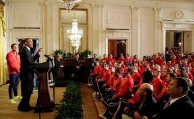 Obama pret në Shtëpinë e Bardhë kampionët olimpikë