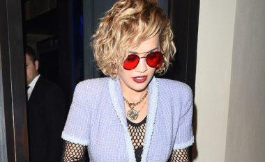 Rita Ora me stil të ri të flokëve (Foto)