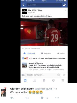 Postimi i vëllait të Georginio Wijnaldum.