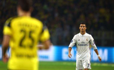 Ronaldo mund të dënohet me tri ndeshje moslojë shkaku i këtij veprimi (Video)