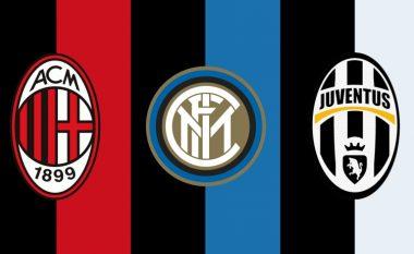Këto janë statistikat e skuadrave italiane prej që luajnë në Serie A (Foto)
