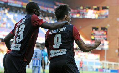 Simeone JR: Babai ende nuk më ka uruar për golin e shënuar