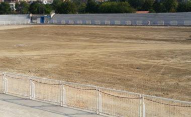 MMPH urdhëron ndaljen e punimeve në stadiumin e Prishtinës, nuk ka leje (Foto)