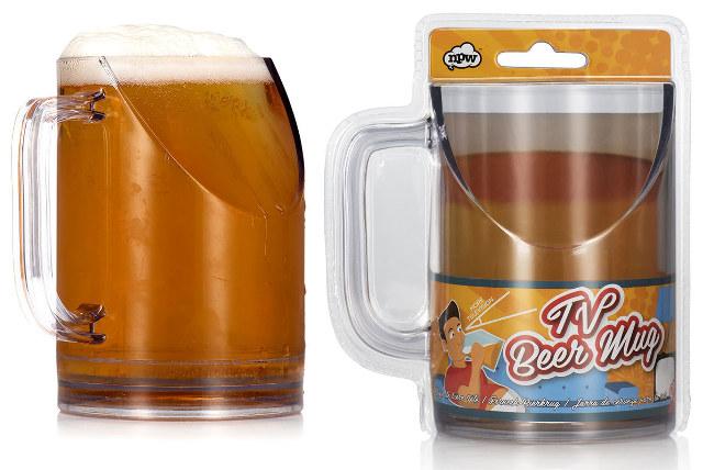 television-watching-beer-mug