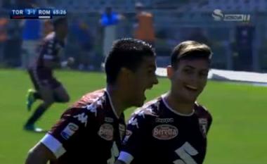 Supergol nga Torino, Roma afër humbjes (Video)