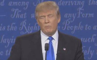 Debati me Clinton: Gjesti i Trump që po diskutohet me të madhe në internet! (Video)