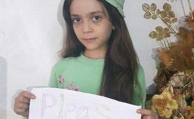 7-vjeçarja, mesazh për Putinin dhe Assadin (Foto)