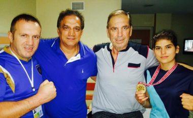 Kampionia e Evropës viziton legjendën Aziz Salihu