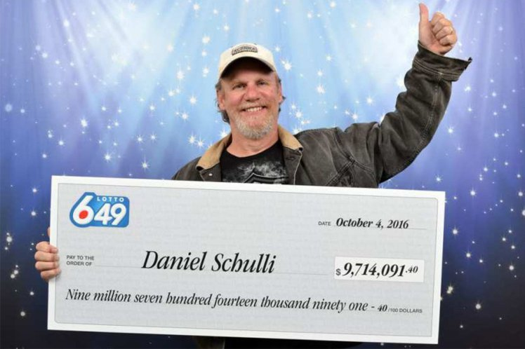 Dad wins the lottery then trolls his children in the best possible way. credit: British Columbia Lottery Corporation