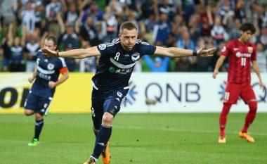 Super Berisha, ia fillon golave në Australi (Video)