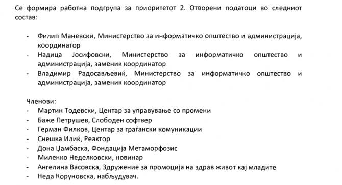 Dokument qeveritar Nedellkovski