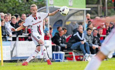 Debutim ëndrrash për Hadergjonajn, asistim në barazim ndaj Dortmundit