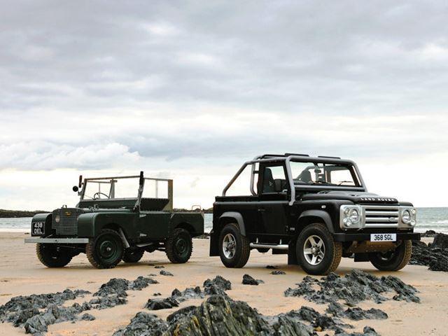 Land Rover Defender i ri do të lansohet më 2018 foto 8