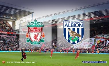 Liverpool - WBA, formacionet zyrtare