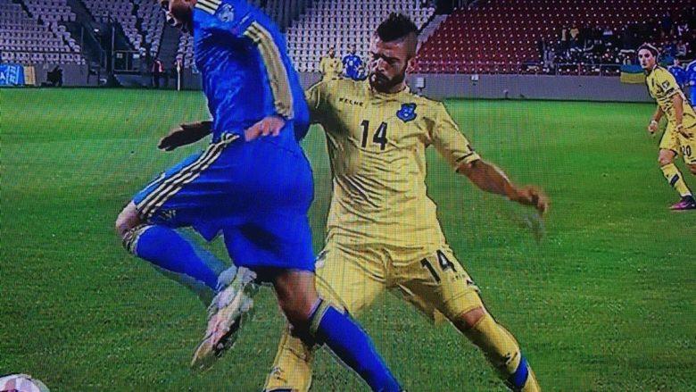 Valon Berisha bëri përpjekje maksimale, por nuk arriti të bënte diferencën....