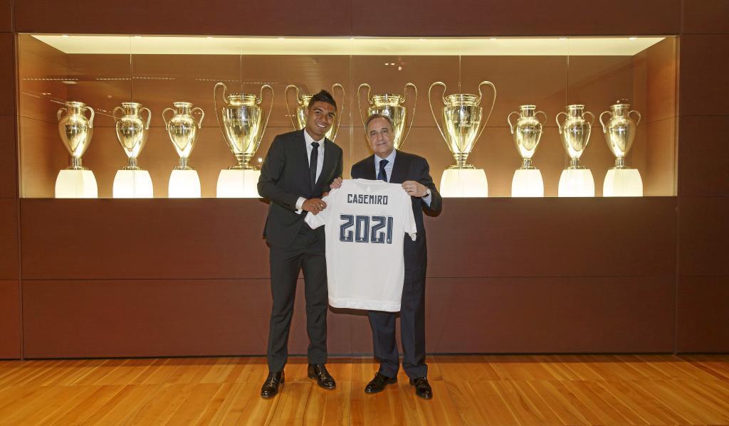Casemiro deri në vitin 2021 me Real Madridin