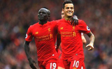 'Reds' dyfishojnë epërsinë, gol i bukur nga Coutinho (Video)