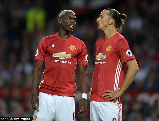 Pogba dhe Ibra janë yjet kryesore të Unitedit këtë sezon.